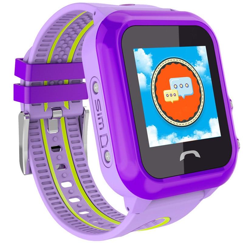Fotografie Ceas smartwatch copii iUni Kid27, Telefon incorporat, GPS, Bluetooth, Mov