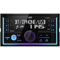 Player auto JVC KW-X830BT, 2DIN, 4x50W, USB, AUX, Bluetooth, Culori variabile