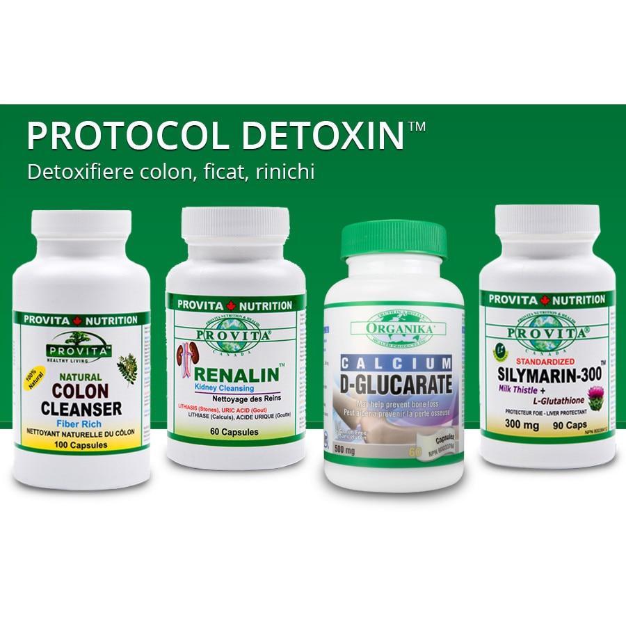 detoxifierea colonului renal hepatic)