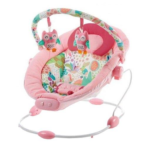 Fotografie Leagan Baby Mix, cu vibratii si sunete, Grand Confort Pink Sensation
