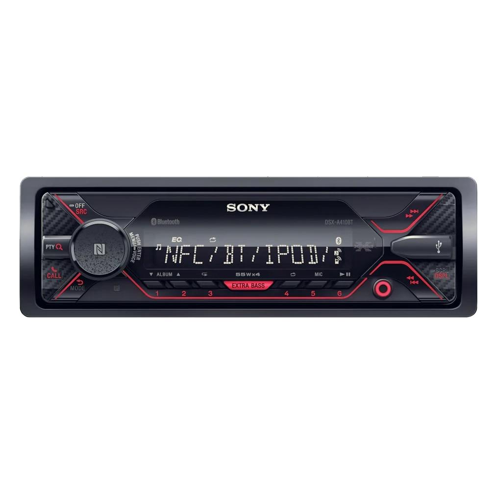 Fotografie Radio MP3 Player auto Sony DSXA410BT, USB, Bluetooth, NFC, AUX, Control Siri