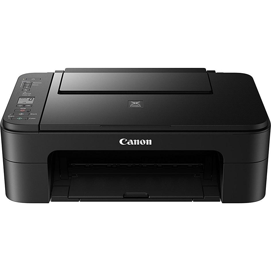 Fotografie Multifunctional inkjet color Canon PIXMA TS3150, WiFi, A4, Negru