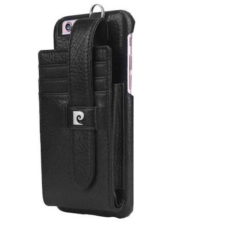 PIERRE CARDIN mûanyag védõ tok,APPLE iPhone 6 Plus / 6s Plus,Fekete