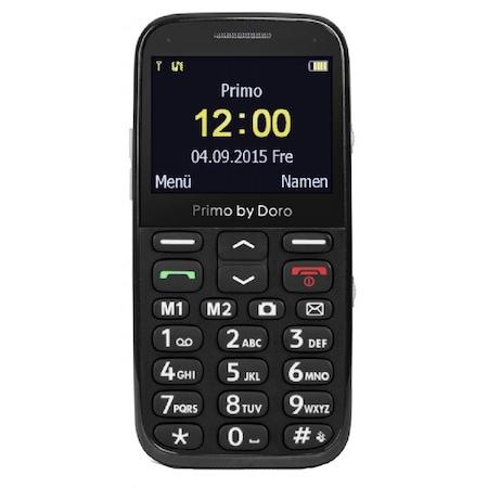 Doro Primo 366 mobiltelefon, Kártyafüggetlen, Fekete