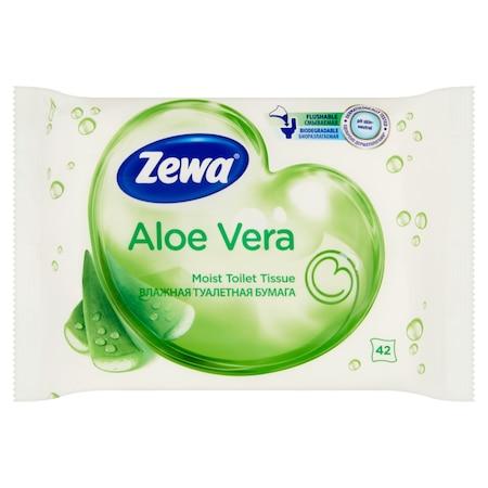 Zewa Aloe Vera nedves toalettpapír, 42 db