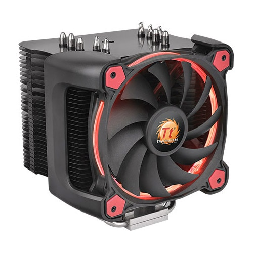 Fotografie Cooler CPU Thermaltake Riing Silent 12 Pro Red, compatibil Intel/AMD
