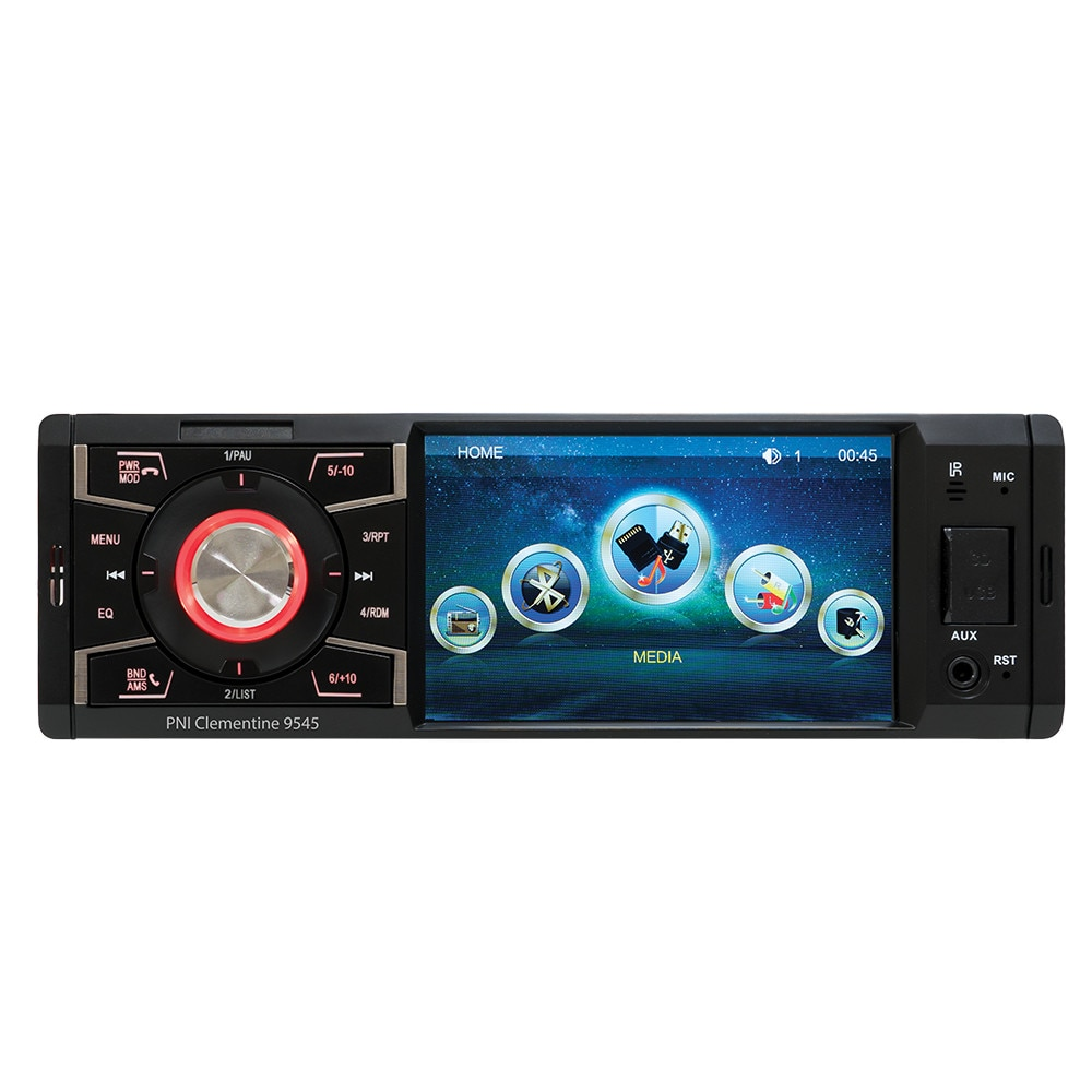 Fotografie MP5 player auto PNI, Clementine 9545 1DIN, display 4 inch, 50Wx4, Bluetooth, radio FM, SD si USB, 2 RCA video IN/OUT