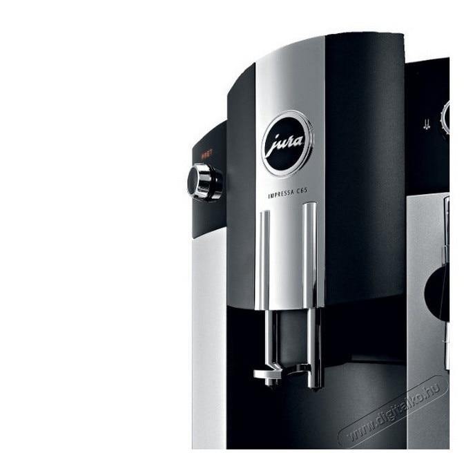 Jura Impressa C65 kávéfőző ezüstfekete, 1450W