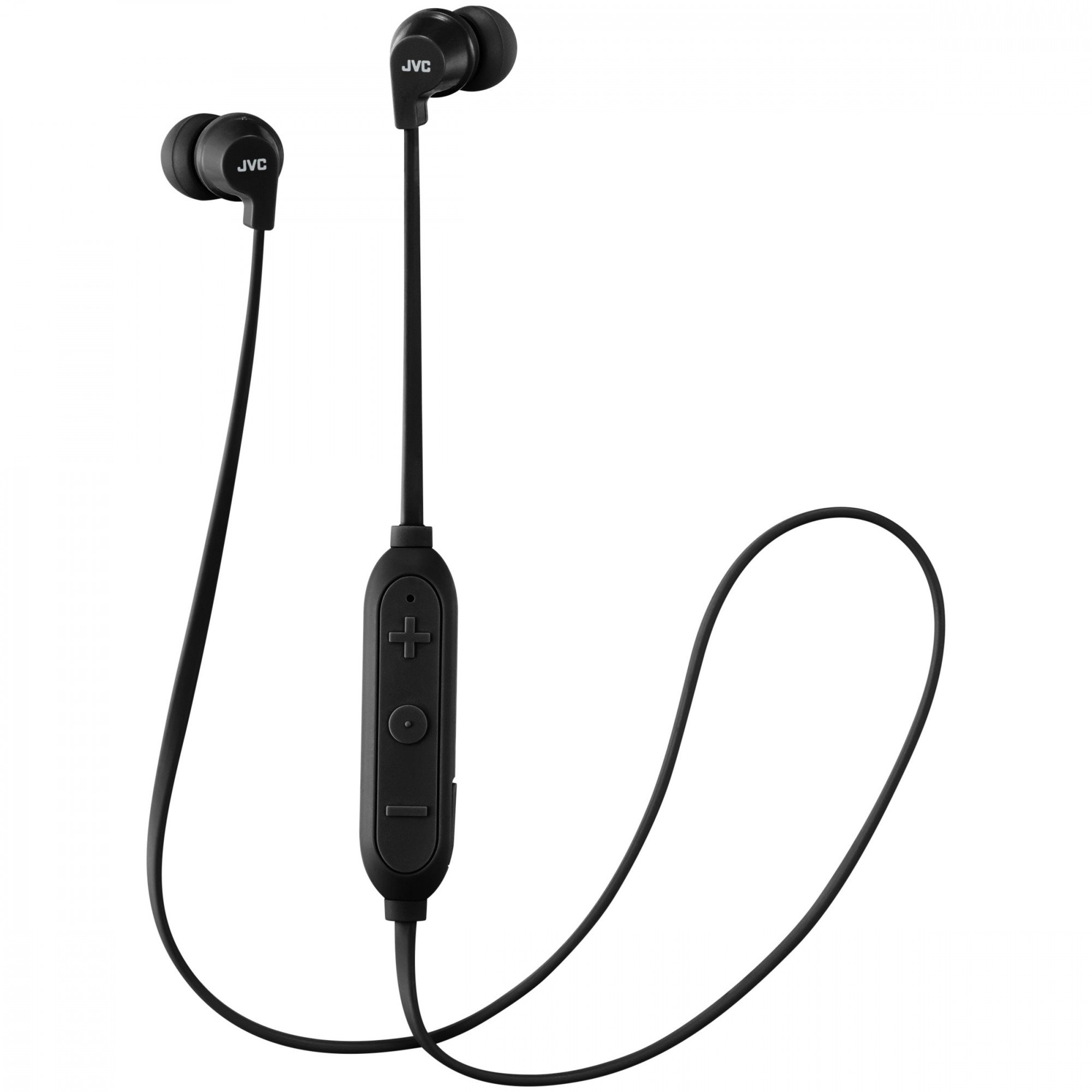 Fotografie Casti in ear JVC HA-FX21BT-BE, Bluetooth, Negru