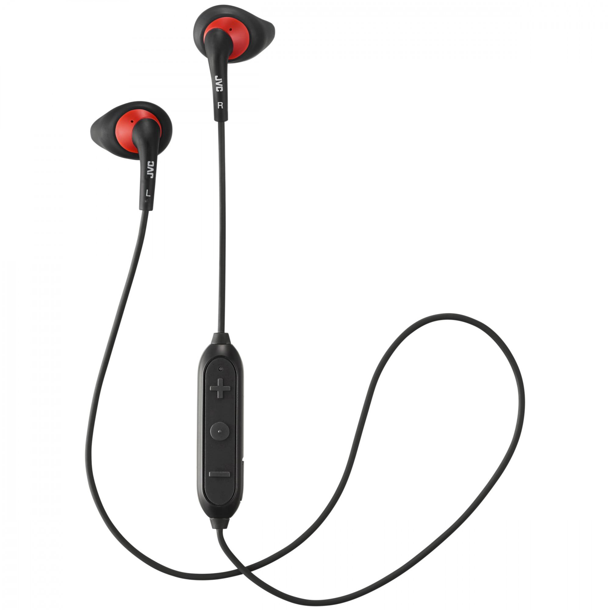 Fotografie Casti in ear JVC HA-EN10BT-BE, Gummy Sport, Bluetooth, Negru