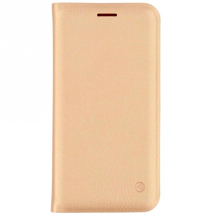 Fotografie Husa de protectie Tellur Book pentru Apple iPhone 8 / iPhone 7, Gold