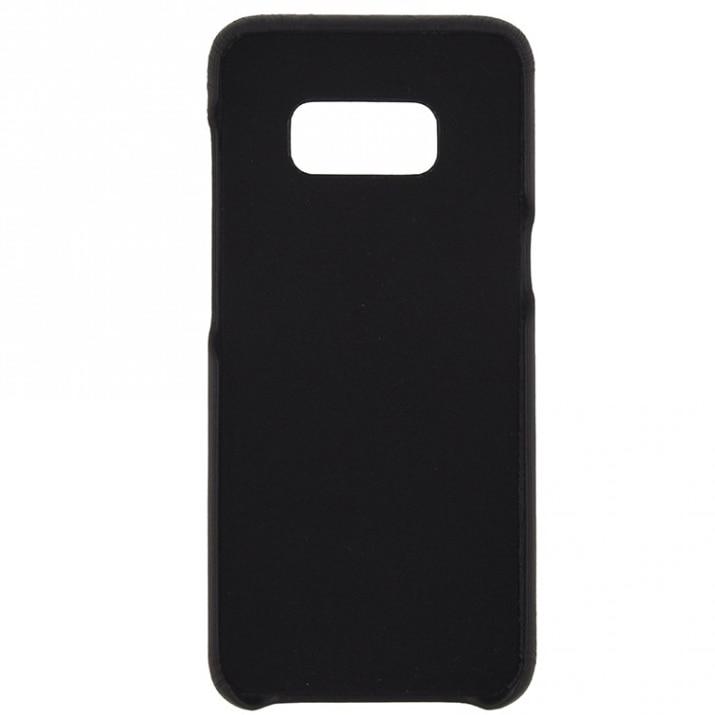 Fotografie Husa de protectie Tellur Pure pentru Samsung Galaxy S8, Piele, Deep Black