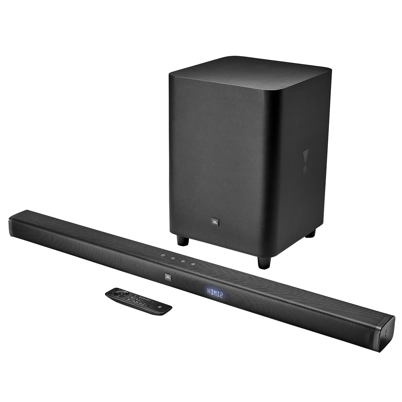 Fotografie Soundbar JBL BAR 3.1, 450W, bluetooth, subwoofer wireless, Negru