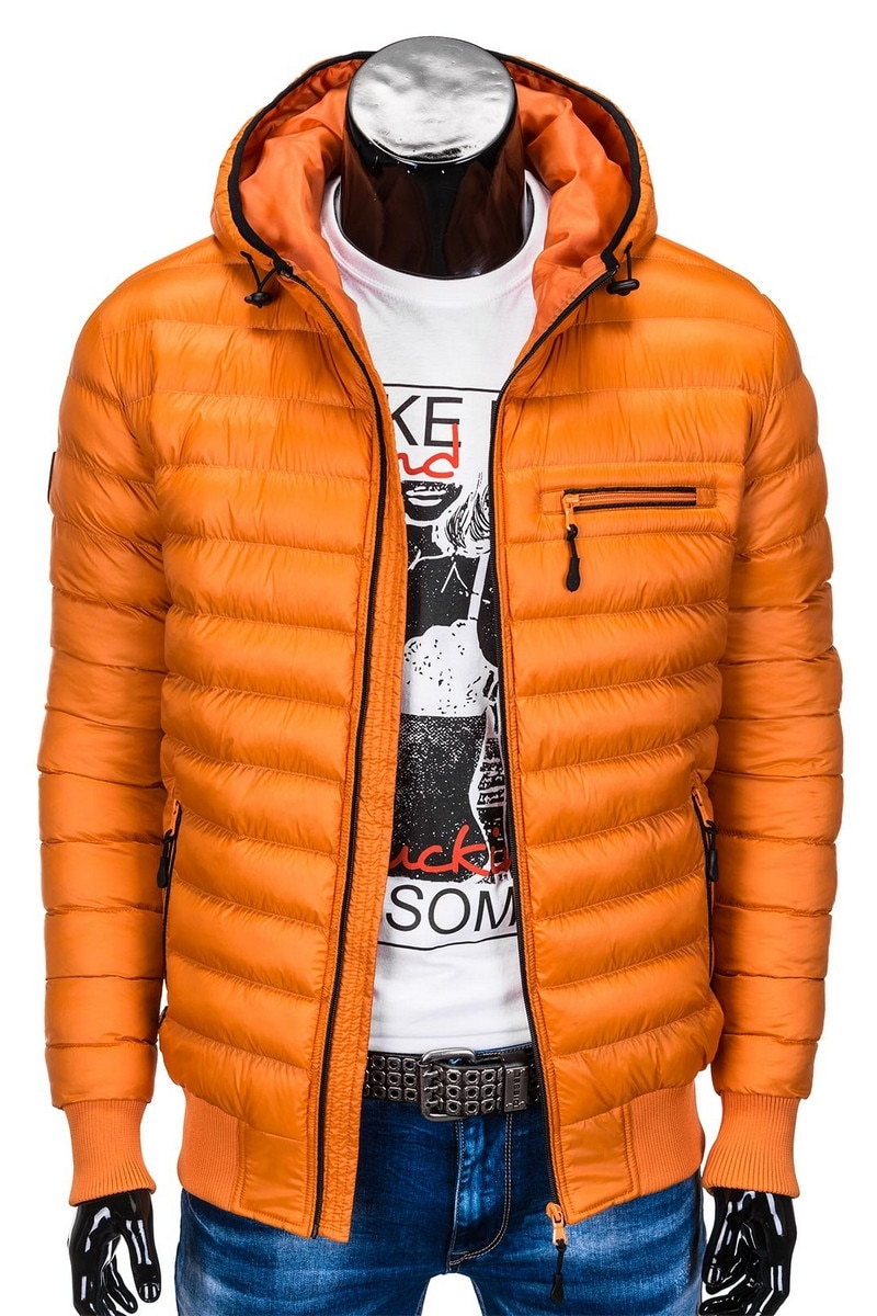 Ombre C384 férfi téli dzseki Piros, M eMAG.hu