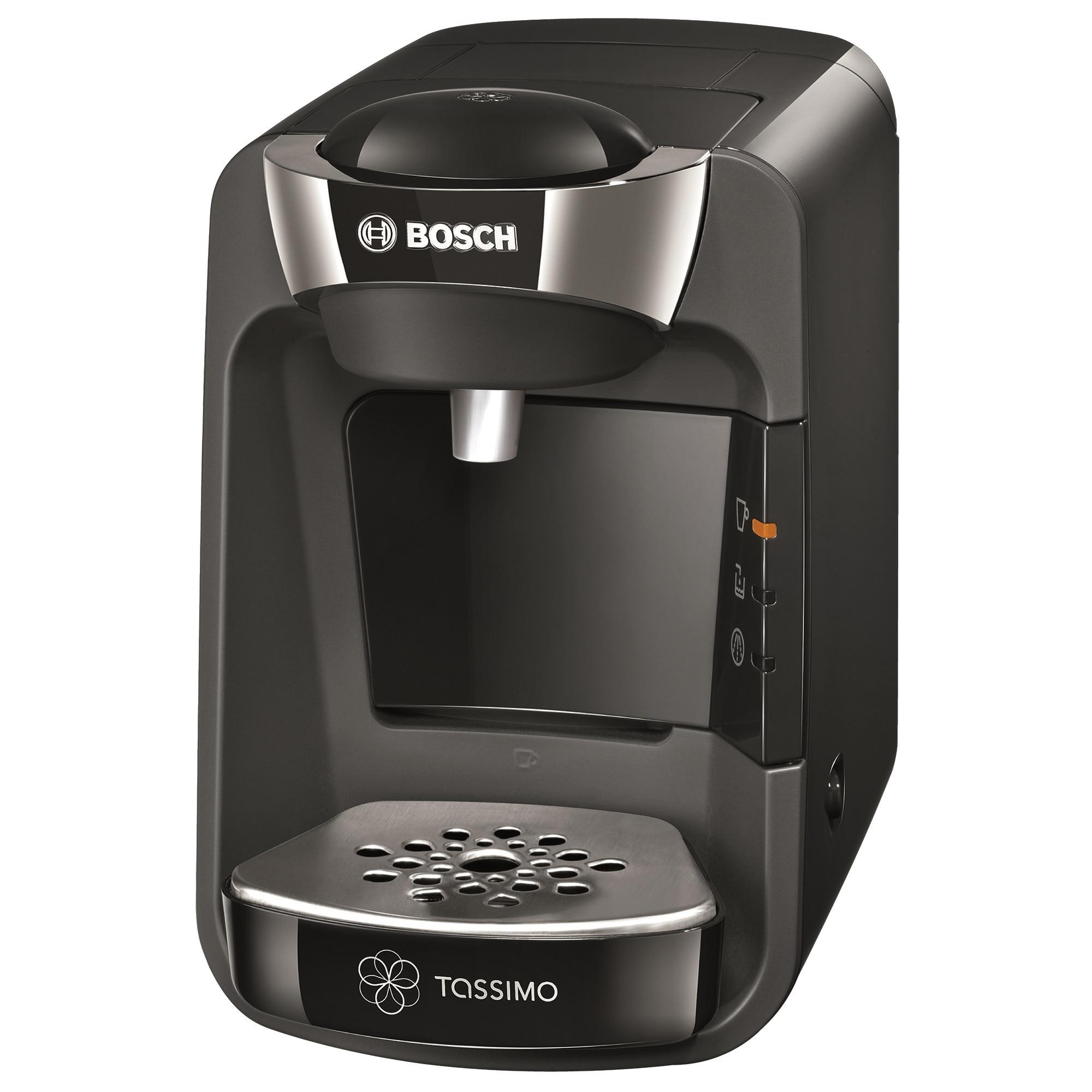 Fotografie Espressor Bosch Tassimo Suny TAS 3202, 1300 W, 3.3 bar, 0.8 l, Capsule, Negru