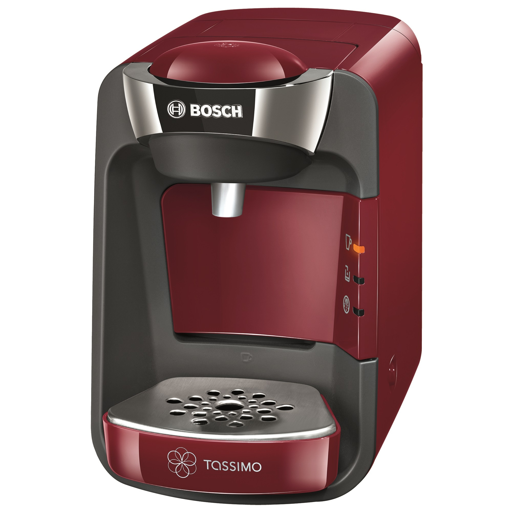 Fotografie Espressor Bosch Tassimo Suny TAS 3203, 1300 W, 3.3 bar, 0.8 l, Capsule, Rosu
