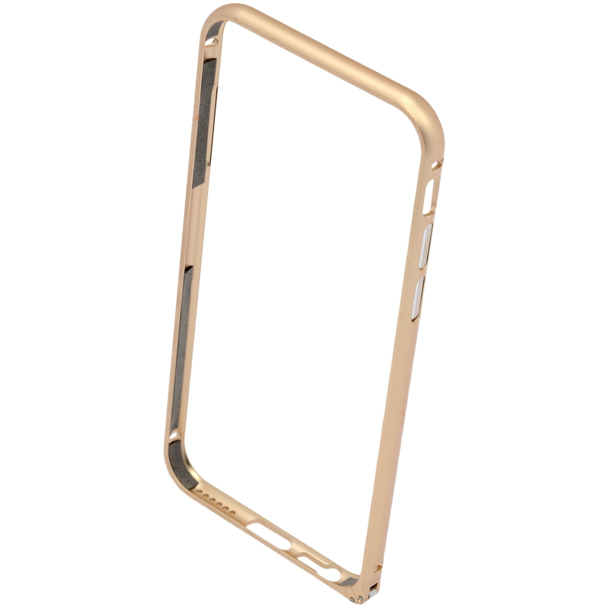 Fotografie Bumper A+ Aluminium pentru iPhone 6, Gold