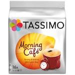 Capsule cafea, Jacobs Tassimo Morning Cafe, 16 bauturi x 215 ml, 16 capsule