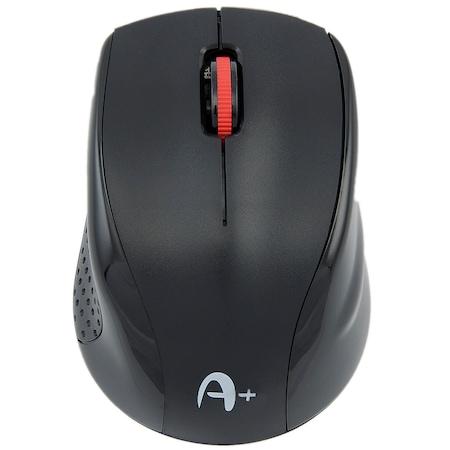 Mouse wireless A+ F1, Negru