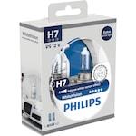 Philips H7 White Vision halogén fényszóró izzó készlet, 12V, 55W, 2 darab